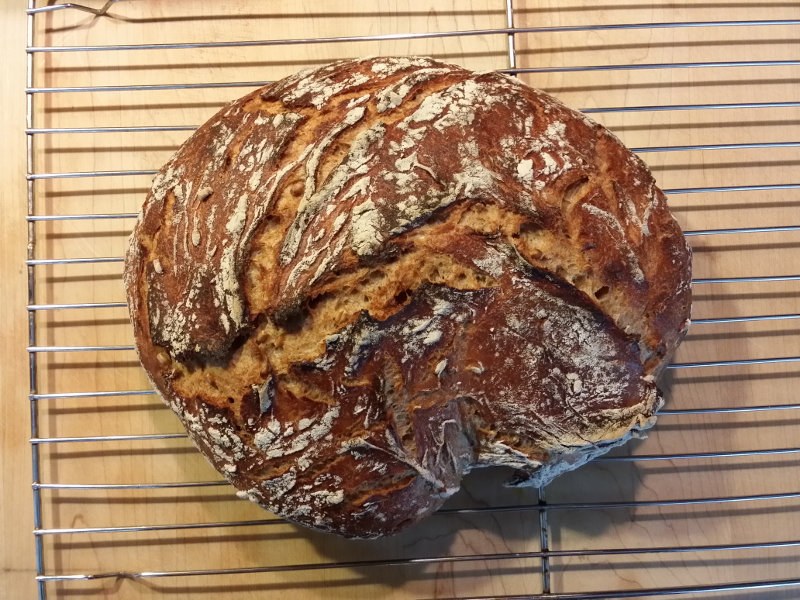 Dutch Oven Rye Bread Recipe